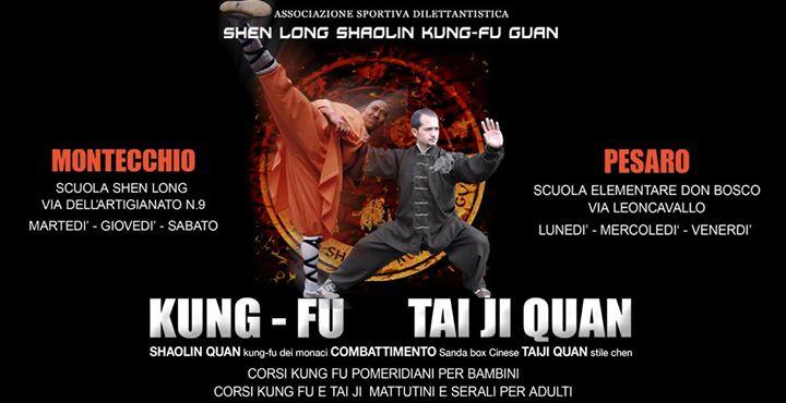 Corsi 2017 – 2018 Shaolin Kung Fu e Taiji Quan Stile Chen